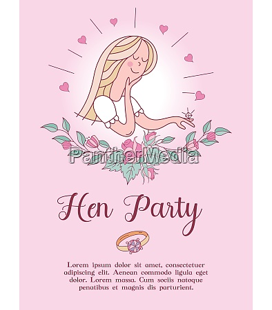 invitation to the bachelorette party before