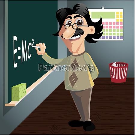 science guy old nerd teacher science