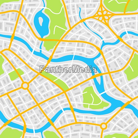 abstract city map seamless pattern abstract