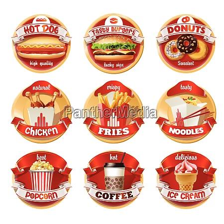 culinary company brand template logo identity