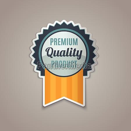premium quality badge product guarantee premium