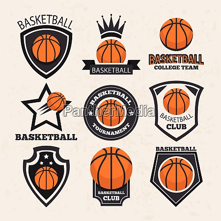 basketball sport theme vector art basketball