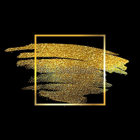 gold texture paint stain illustration hand