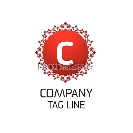 alphabetical logo design with creative typography
