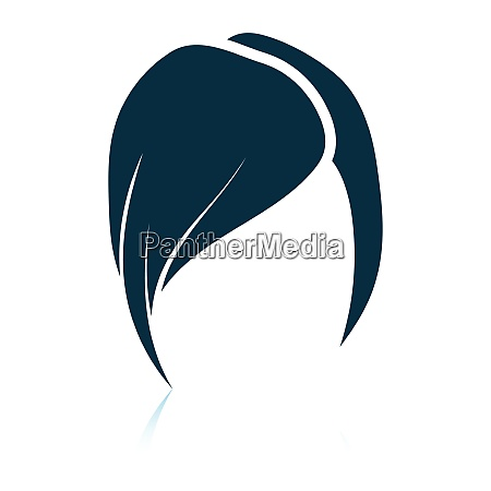 ladys hairstyle icon
