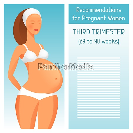 recommendations for pregnant women in third