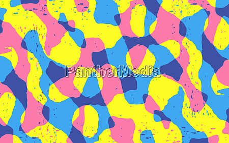abstract backgrounds merging squiggle pattern