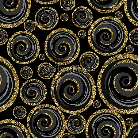 classic seamless gold glitter pattern