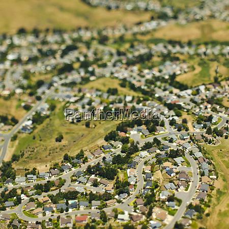 suburban community