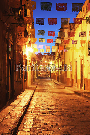 decorated streets