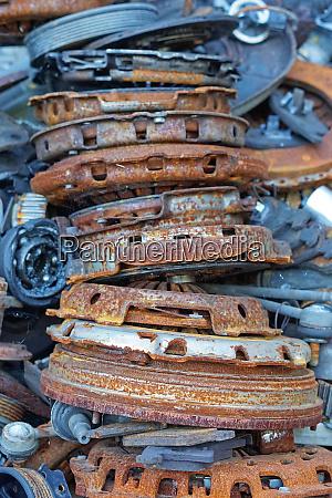 rusty clutch parts