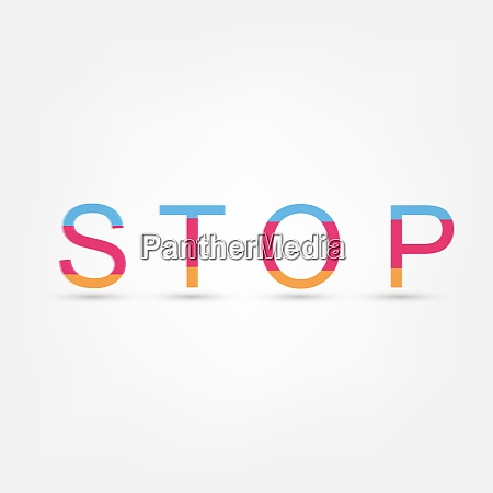 stop text