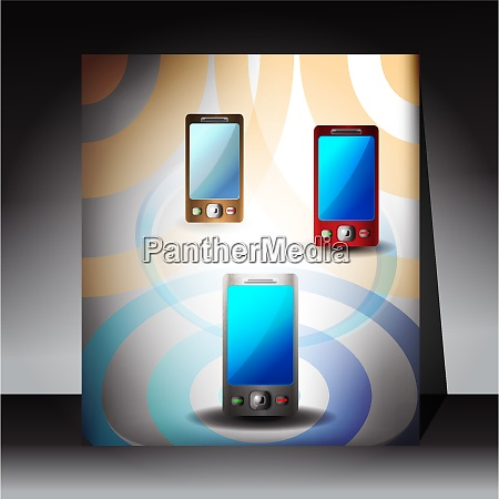 flyer mobile phones