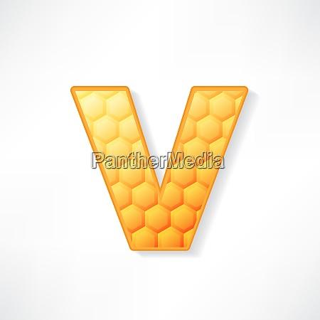 honey alphabet