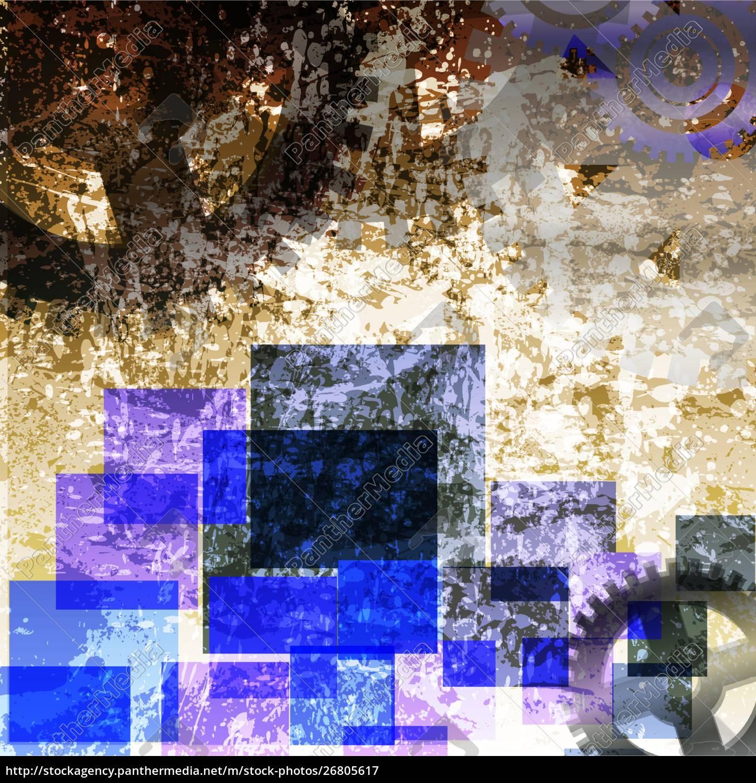 arrow, abstract, vector, background. - 26805617