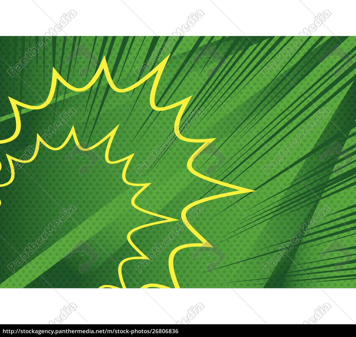 vector, illustrated, retro, comic, book, background. - 26806836