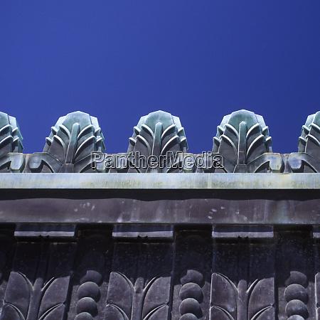 art deco architectural detail on building
