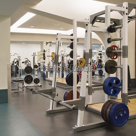 empty weight room