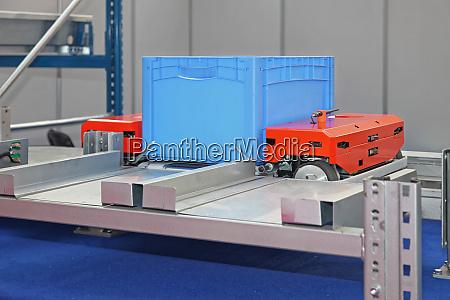 pallet shuttle crate
