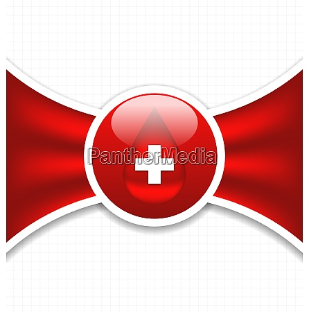 illustration abstract medical background blood donation