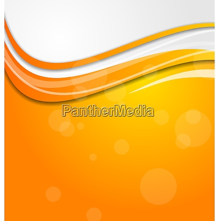 illustration abstract bright orange background with