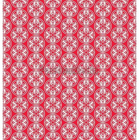 illustration seamless ornamental texture islam arabic