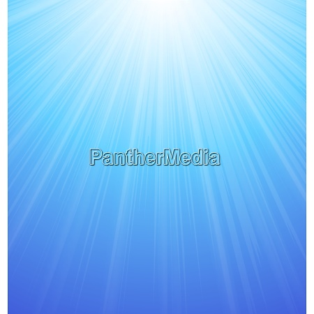 illustration abstract blue sky background