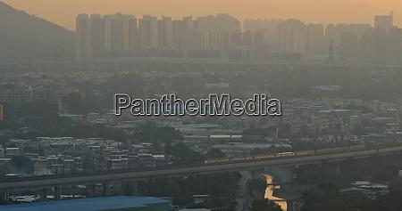 serious air pollution of hong kong
