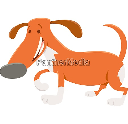 spotted dog or puppy cartoon character