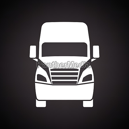 truck icon front view