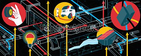 energy conservation diagram