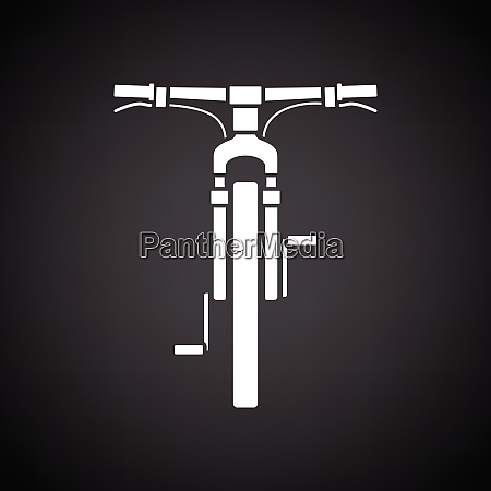 bike, icon, front, view - 26827472