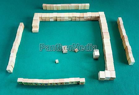 disassembling the wali in of mahjong