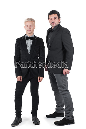 two young men in jackets