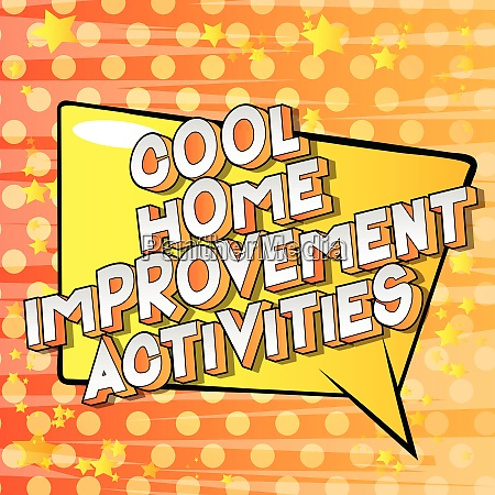 cool home improvement activities comic