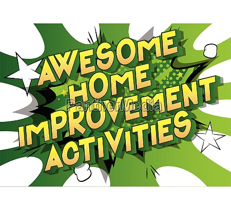 awesome, home, improvement, activities, -, comic - 26835666