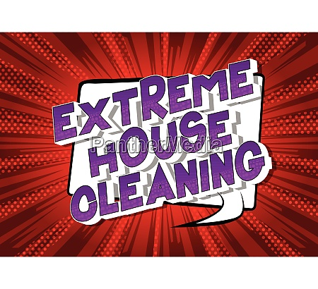 extreme house cleaning comic book