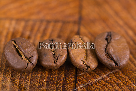 coffee beans in closeup