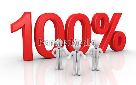 team offers success 100 percent