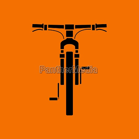 bike icon front view