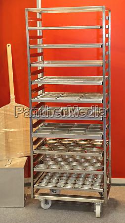 bakery rack cart