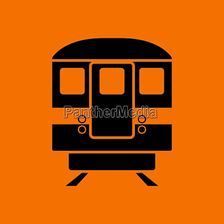 subway, train, icon, front, view - 26850164