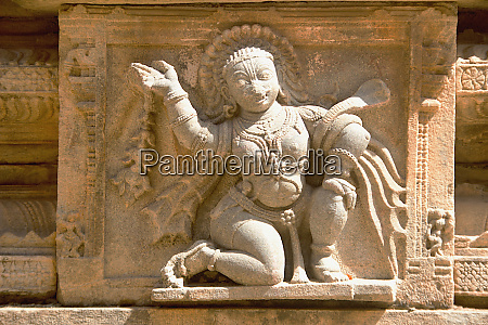 sculpture of graceful lady melukote