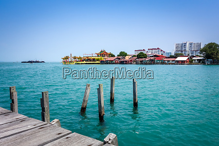 temple in george town chew jetty