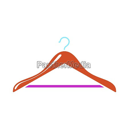cloth, hanger, icon - 26860711