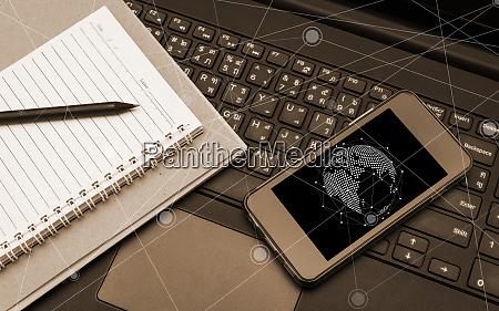 smart phone mobile black screen on
