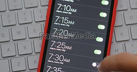 set alarm for wake up