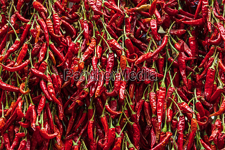 paprika on a market in funchal