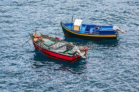 fishing boats in camara de lobos