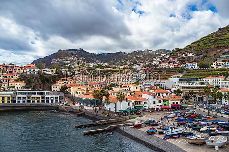 view to the city camara de